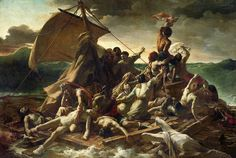 'The Raft of Medusa' - Theodore Gericault