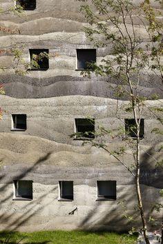 Giardin Housing Complex, Switzerlan designed by Kurt & Mierta Lazzarini Architekten