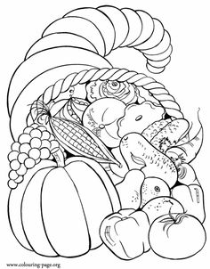 Shades of Turkeys and Pumpkin Pie: #Thanksgiving Colouring Pages #colouringpages…