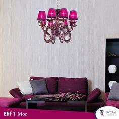 Farklı Tasarımıyla Dekorasyonunuza Şıklık Katacak Elif Serisi Mor Avize Tavcam Avize'de. Ürünü Detaylı İncelemek İçin Linke Tıklayınız: http://bit.ly/2rqcjr2 #tavcam #tavcamavizeaydınlatma #tavcamavize.com #elifserisi #colorful #chandelier #evdekorasyonu #decoration #exclusive #handmade #Turkey