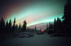 Visit Finland's Lapland to see the Northern Lights