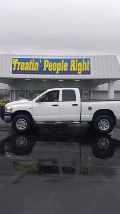 Congratulations Louis Flores on the purchase of your 2008 Dodge Ram. We appreciate your business.