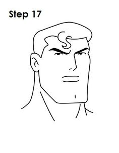 How to Draw Superman from DC Comics in Easy Step by Step