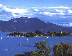 Chiemsee- Landscape - Chiemsee - Bavaria - Germany