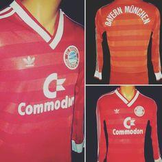 Very rare long sleeve 1984 Bayern Munich football shirt from @theclassicshirt now on http://ift.tt/1dRUZVs #football #footballshirt #footballshirtcollective #soccer #soccershirt #adidas #adidasvintage #adidasfootball #classicfootball #classicfootballshirt #bayern #bayernmunich #munich #matthaeus