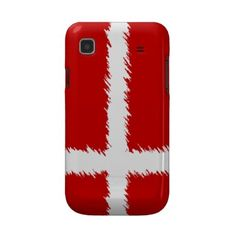 Danish Flag Samsung Galaxy Case