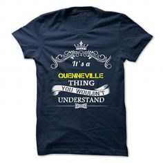 Funny T-shirts QUENNEVILLE Hoodie Sweatshirt
