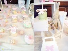 Maileg baby rabbits decorated this girl birthday 1st Birthday Girls, 1st Birthday Parties, Cakepops, Felt Toys, Rabbit, Children, Party, Tables, Decor
