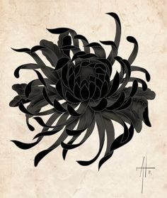tattoos in japanese prints Japanese Tattoos For Men, Japanese Tattoo Designs, Japanese Sleeve Tattoos, Flower Tattoo Designs, Japanese Flower Tattoos, Japanese Chrysanthemum, Japanese Flowers, Body Art Tattoos, Skull Tattoos
