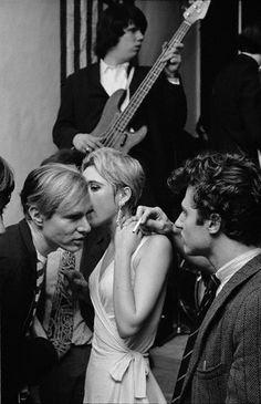 Bob ADELMAN :: Edie Sedgwick & Andy Warhol, 1965