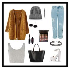 """""""Cheap fall fashion"""" by lise-sorensen on Polyvore featuring Topshop and NYX"""