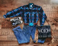 Style Outfits, Cowgirl Outfits, Hippie Outfits, Cowgirl Jeans, Fashion Outfits, Western Chic, Western Wear, Cute Country Outfits, Cute Outfits