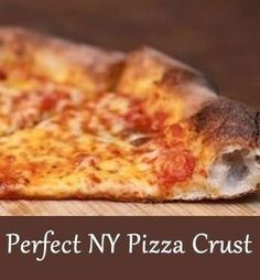 New York Pizza Crust: This is a great, sweet New York-style pizza dough that has a perfect chew. It can be cooked in a high temp brick oven or in a low temp home oven and turn out beautifully either way. Pizza The Best New York Style Pizza Dough Pizza Recipes, Dinner Recipes, Cooking Recipes, Grilling Recipes, Cooking Bacon, Party Recipes, Kitchen Aid Recipes, Cooking Wine, Sausage Recipes