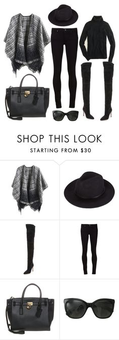 """""""2015/1334"""" by dimceandovski on Polyvore featuring Sergio Rossi, MICHAEL Michael Kors, Chanel and J.Crew"""