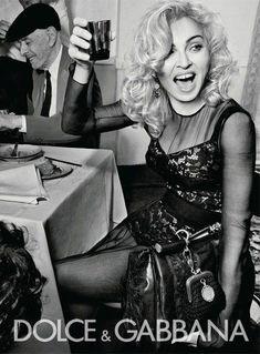Madonna by Steven Klein for Dolce & Gabbana F/W 2010 Veronica, Madonna Rare, Lady Madonna, Madonna Albums, Madonna Photos, Madona, Brad Pitt And Angelina Jolie, Italian Fashion, Italian Style