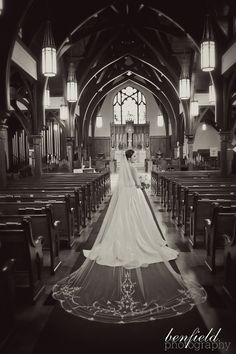 Our beautiful bride. Photo by Benfield