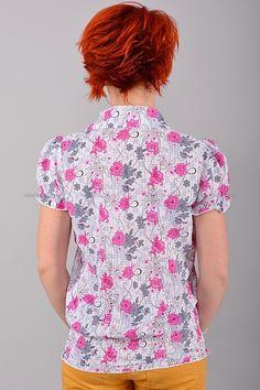 Рубашка Б8510  Цена: 252 руб  Размеры: S, M, L    Стильная рубашка с резинкой по низу.  Модель с отложным воротником и застежкой на пуговицы.  Состав: 65 % хлопок, 35 % полиэстер.     http://odezhda-m.ru/products/rubashka-b8510     #одежда #женщинам #блузкирубашки #одеждамаркет