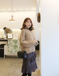 Bring out your modest look in this simple sweater.