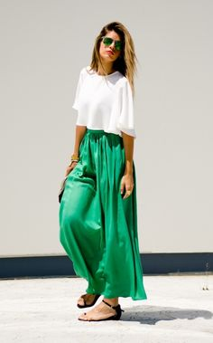 10 Ways to Rock a Crop Top Without Showing Skin — Seriously! via Brit + Co.