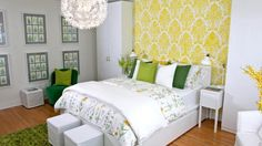 IKEA Bedroom Makeover: Spa Retreat | Steven and Chris | Our friends from IKEA transformed a dull, old room into a bright, spa-like retreat for a hardworking mother.