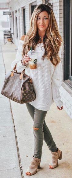 45 Gorgeous Fall Outfits to Shop Now Vol. 3 / 020 45 Gorgeous Fall Outfits to Shop Now Vol. Mode Outfits, Trendy Outfits, Fashion Outfits, Trendy Hair, Fashion Games, Classy Outfits, Chic Outfits, Fall Winter Outfits, Autumn Winter Fashion