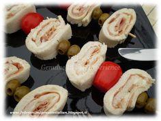 Federico II Genuine Italian Experience: Spiedini stuzzicanti tricolore da aperitivo o buffet