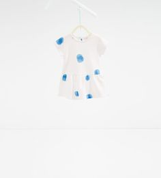 Image 1 of Polka dot dress from Zara