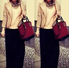 Cute Hijab Style:)