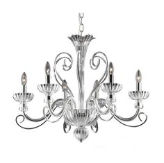 Ideal Lux Middle Ages Lampadari a candelabro - Light Shopping Blown Glass Chandelier, Empire Chandelier, Wagon Wheel Chandelier, 5 Light Chandelier, Chandelier Shades, Lustre Design, Dar Lighting, Home Living, Fabric Shades