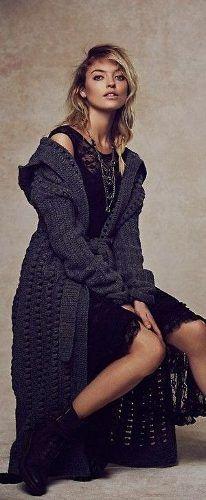 maxi saco de diseño tejido artesanalmente en crochet