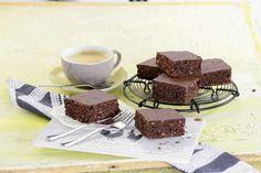 Schoko-Brownies mit Mandeln - auch für Diabetiker