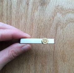 Bullet tie clip