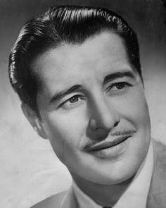 Don Ameche ♥ So Dashing and Debonair.  My very dashing grandfather wore his mustache the very same way.