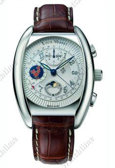 Louis Moinet | Variograph | Edelstahl | Uhren-Datenbank watchtime.net