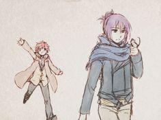 Shion & Nezumi gif   No.6 anime GIF