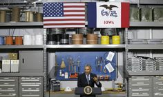 Obama Praises Local Broadband Initiatives During Iowa Visit