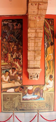 'Maguey, Agave, and Sisal Plants.' National Palace Or Palacio Nacional. Diego Rivera Murals. Mexico City D.F. México Travel & Tour Pictures, Photos, Images, & Reviews.