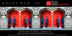 Cast your VOTE #Muuse #voguetalents Haley Newman #newdesigner competition #MxVT13 #muusefashion http://www.muuse.com/#!vogue2013/294-haley-newman