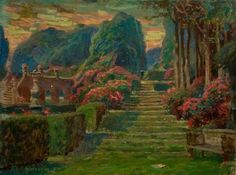 Stage Setting for 'Twelfth Night' by William Shakespeare Charles A. Buchel - 1901 Victoria and Albert Museum - London (England) Painting - oil on paper Height: cm in. Twelfth Night, William Shakespeare, Shakespeare Theatre, Stage Set, Garden Seating, Art Uk, Victoria And Albert Museum, London England, Explore