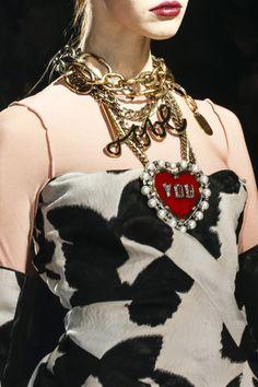 Paris Fashion Week: Bijuterias de Lanvin - Lanvin's Jewelry