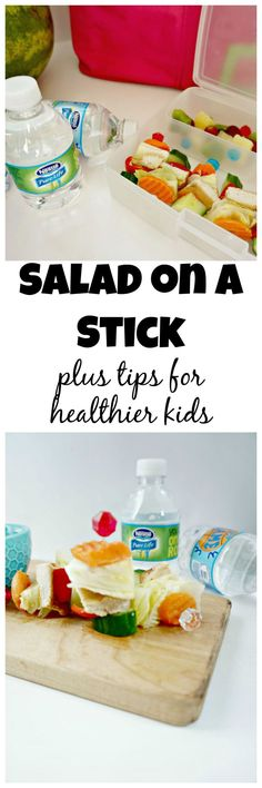 When it comes to eating and kids, nothing beats food on a stick. Create salad on a stick to serve with Nestlé® Pure Life® Water, for a nutritious meal perfect to take on the go. #PureLifeRippleEffect