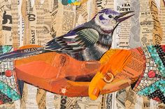 Art from salvaged materials by Dolan Geiman - UPCYCLIST
