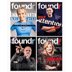 Sign up to grab the ultimate startup bundle! 4 issues issues wrapped into 1 epic special deal. Interviews with @ariannahuff  @timferriss   @barbaracorcoran  @garyvee  Press on the link in our bio to access now  or go to http://ift.tt/1XWTqc1 by foundrmagazine