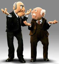 95 best grumpy old men images jim henson the muppets dolls. Black Bedroom Furniture Sets. Home Design Ideas
