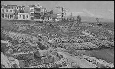 """Ερείπια του Κονώνειου Τείχους της Πειραϊκής. Περιοδικό του ΟΛΠ , """"Ο Λιμήν του Πειραιώς κατά το 1968"""". Από το βιβλίο της Κάτιας Μητροπούλου """"Πειραιάς, ένα σεργιάνι"""". Old Photos, Vintage Photos, Henry Miller, Athens, City Photo, Sailing, Greece, Boat, Explore"""