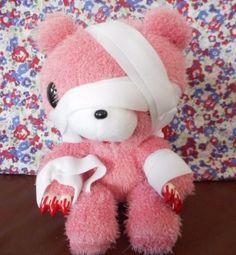 GLOOMY BEAR Plush Halloween Bandage