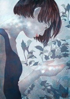"""Gorgeous illustrations by South Korean artist Yang Se Eun, who goes by the moniker """"Zipcy."""""""