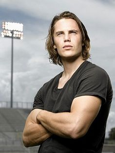 Taylor Kitsch as Tim Riggins in Friday Night Lights. Quite probably the best show that has ever been save Game of Thrones. Taylor Kitsch as Tim Riggins in Friday Night Lights. Quite probably the best show that has ever been save Game of Thrones. Tim Riggins, Taylor Kitsch, Maybelline Mascara, Friday Night Lights, Friday Nights, Dillon Panthers, Eye Candy, Clear Eyes, Raining Men