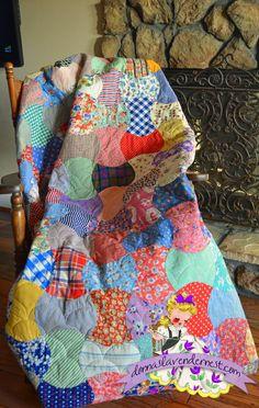 Donna's Lavender Nest: Vintage Quilt All Quilted