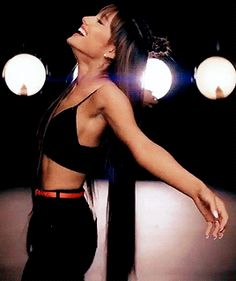 Ariana Grande messing around such a cutie